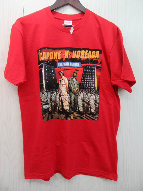 Supreme The War Report Tee シュプリーム ワー リポートTシャツ 16AW Red/レッド/赤 未使用品 CAPONE-N-NOREAGA メンズ古着【アメ村店】