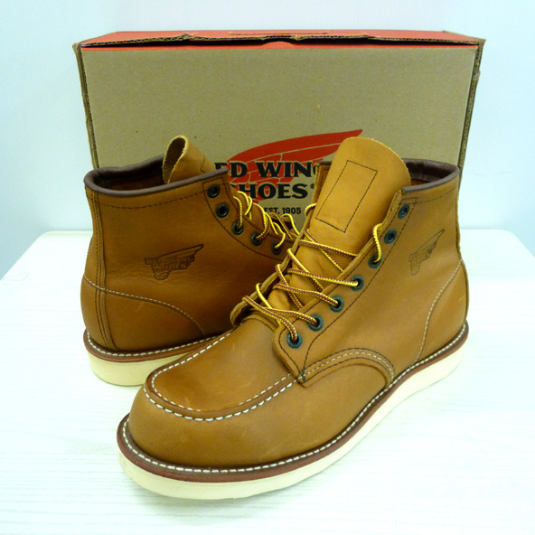 RED WING/レッド ウィング/モックトゥ/アイリッシュセッター/ワークブーツ/875/MADE IN USA/26.5cm/キャメル/メンズ/古着 130 桜井店