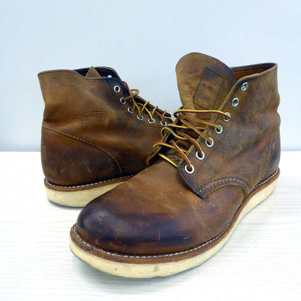 RED WING/レッド ウィング/アイリッシュセッター/プレーントゥ/ワークブーツ/9111/MADE IN USA/27.0cm/ブラウン/メンズ/古着 130 桜井店