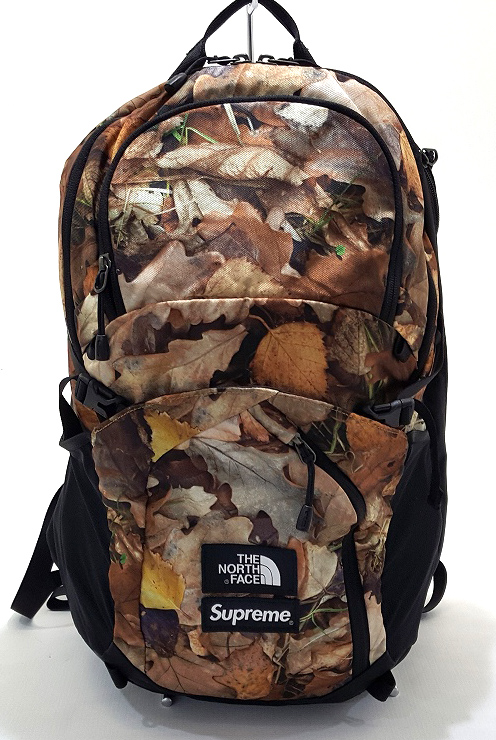 16AW SUPREME×THE North Face Pocono Backpack Leaves シュプリーム×ザ ノース フェイス ポコノ バックパック リーベス【福山店】